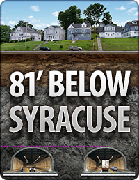 81' Below Syracuse